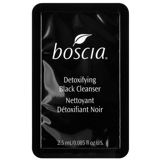 Boscia Detoxifying Black Charcoal Cleanser (sample)