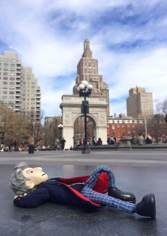 Lazy day. #NYC #PeterCapaldi