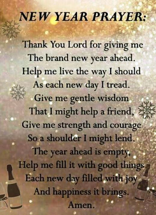Thank You Lord For Giving Me The Brand New Year Ahead New Year New Year Quotes New Year Prayer New Years Prayer Quotes About New Year Happy New Year Quotes