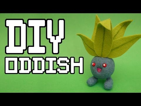 Oddish Needlefelt DIY Tutorial - This series of videos will teach you how to make your own Props, Items and Memorabilia from your favourite games. This tutorial will teach you how to make Oddish from the Pokémon franchise. this was one of the more simple needle felt projects I have attempted and urge you to give it a try.