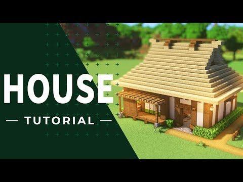マインクラフト 茅葺屋根の家の作り方 和風建築 Youtube 2020