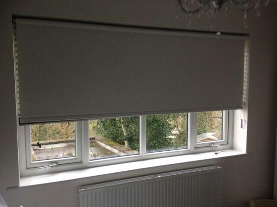 Blackout roller blind for the babies bedroom.  Hyde.  http://blindshyde.co.uk