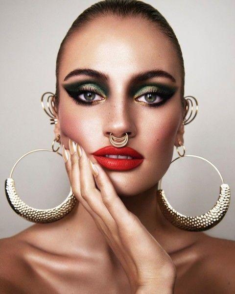 Pin On Editorial Makeup