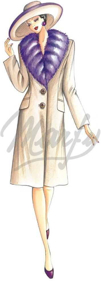 Sewing pattern Coats / Overcoats / Jackets 2897: