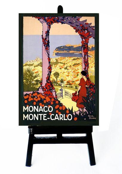 * MINI POSTER - MONTE CARLO - MONACO