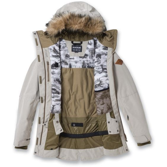 Dakine Brentwood II Damen Jacket Ski-/Snowboard Jacke Jungle