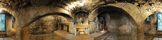 Prison of Christ - In the north-east side of the complex there is The Prison of Christ, alleged by the Franciscans to be where Jesus was held. The Greek Orthodox allege that the real place that Jesus was held was the similarly named Prison of Christ, within their Monastery of the Praetorium, located near the Church of Ecce Homo, at the first station on the Via Dolorosa. The Armenians regard a recess in the Monastery of the Flagellation...
