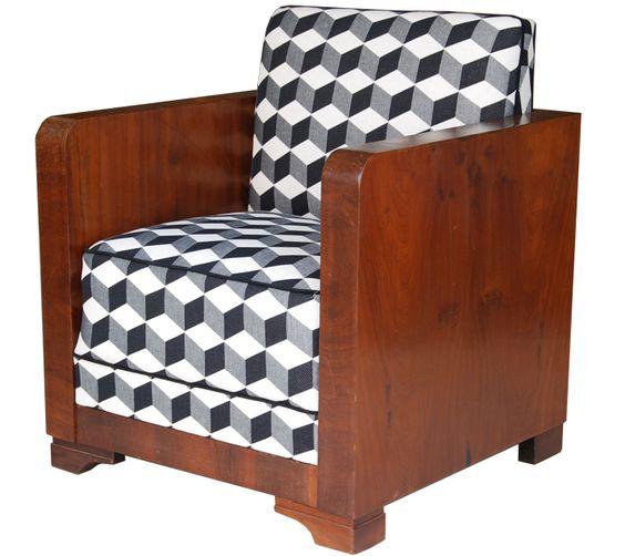 Poltrona Art Deco R$3.300