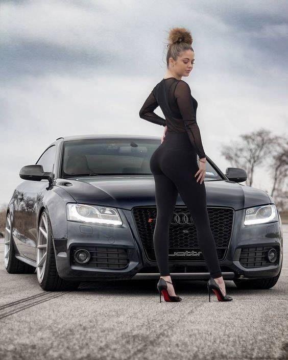 Turbo Chicks Girls Cars Car Girls Audi Girls Bmw Girl