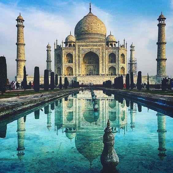 #mytajmemory Taj Mahal - A história de amor mais linda que já conheci. by bellosurfer #IncredibleIndia #tajmahal