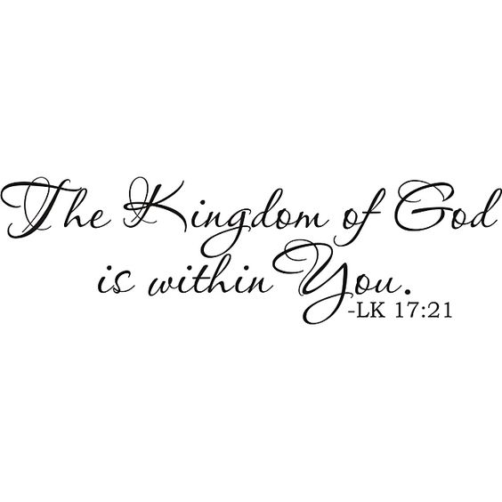 The Kingdom Of God Is Within You Tattoo