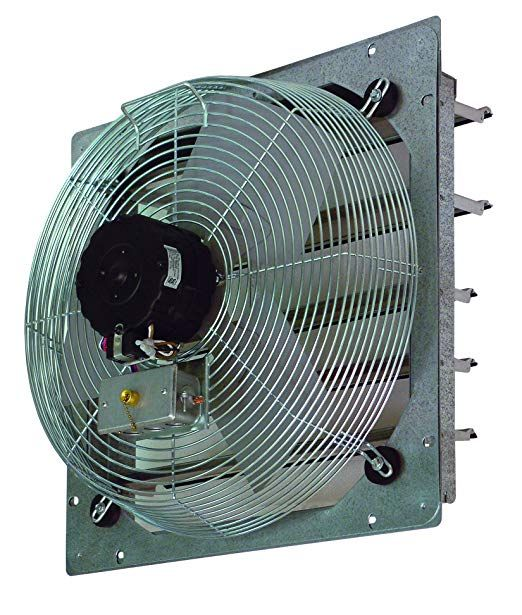 Tpi Corporation Ce14 Ds Direct Drive Exhaust Fan Shutter Mounted Single Phase 14 Diameter 120 Volt Review Exhaust Fan Wall Exhaust Fan Exhaust Fan Kitchen