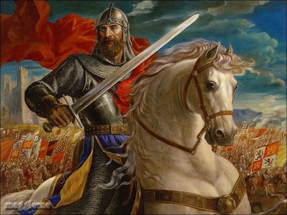 What is the difference between medieval hero and modern day hero?