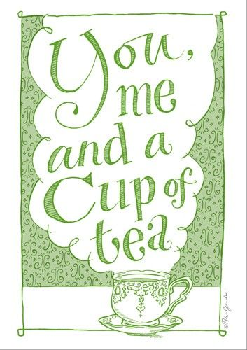 Você, Eu e uma Xícara de Chá