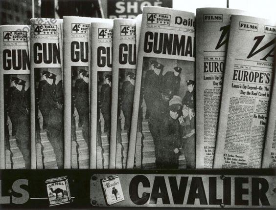 William KLEIN :: Gun, Gun, Gun, New York, 1955 [MoMA]