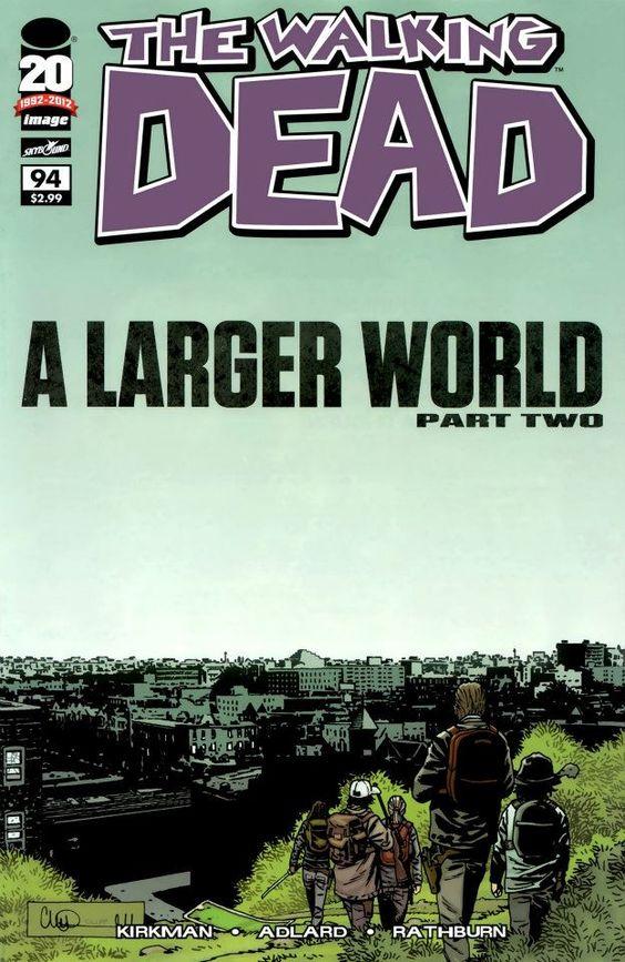 Capa da Edição #94 de The Walking Dead