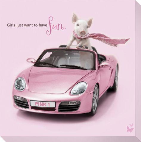 *pink porsche!!!