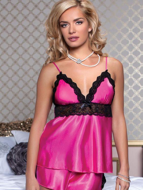 silk camisoles pink