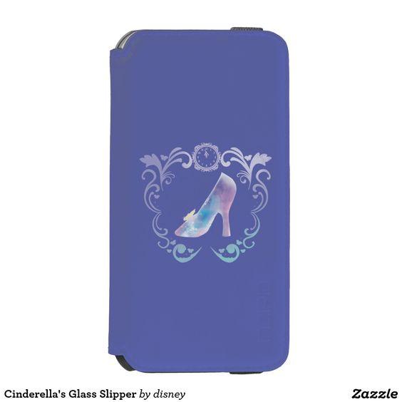 Cinderella's Glass Slipper iPhone 6/6S Wallet Case