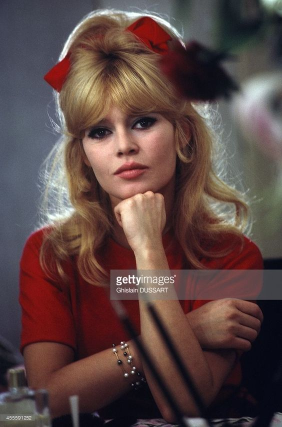 Brigitte Bardot, French Actress circa 1960.