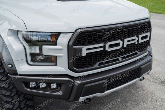 Lower Bumper Opening Fit 120w Led Fog Light Kit For 2017 Up Ford Raptor 6 Cree Led Pod Metal Mounting Brackets On Off Switch Relay Wiring Ford Raptor Ford Raptor Truck