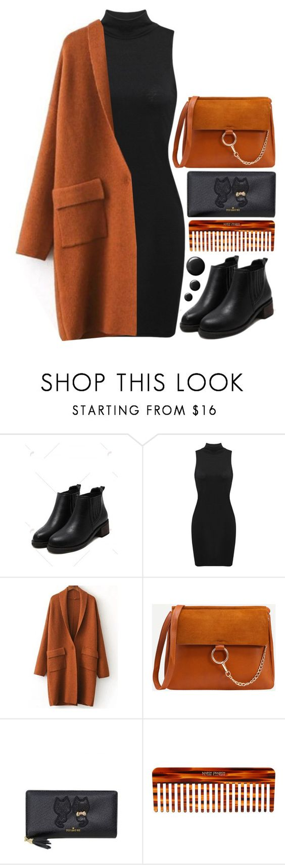 """""""Rosegal 1.6"""" by emilypondng ❤ liked on Polyvore featuring Mason Pearson and orangecrush"""