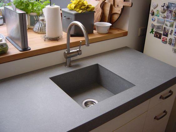 keramisch keukenblad - Google zoeken Ideeën voor het huis - versenkbare steckdosen küche