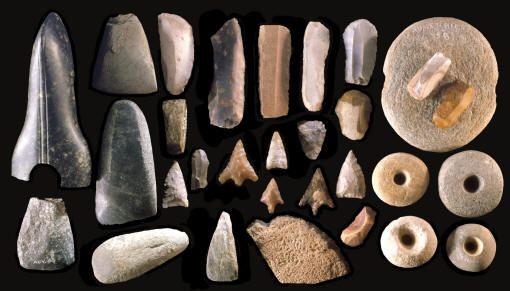 Resultado de imagen de stone prehistoric tools images