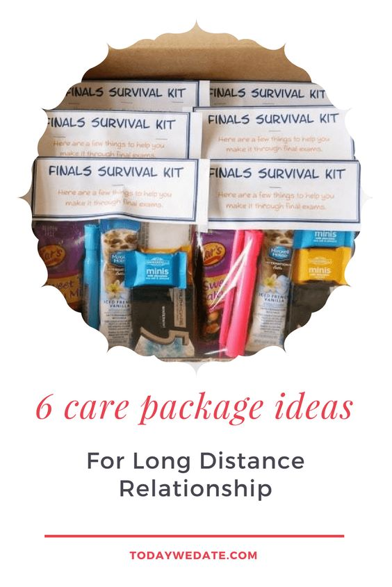 6 Care Package Ideas To Show Love and Support in a Long Distance Relationship- TodayWeDate.com    college care package / cheer up care package/ gel well care package/ military care package/care package themes//care package for boyfriend long distance/long distance relationship care package/long distance care package/long distance relationship survival kit gift/cute care package ideas for long distance boyfriend/care package for boyfriend