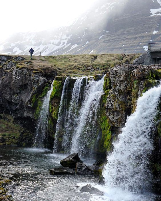 Cascadas de Kirkjufell, Islandia