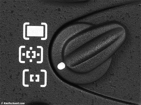 Nikon D700 AF Sensor Mode Switch