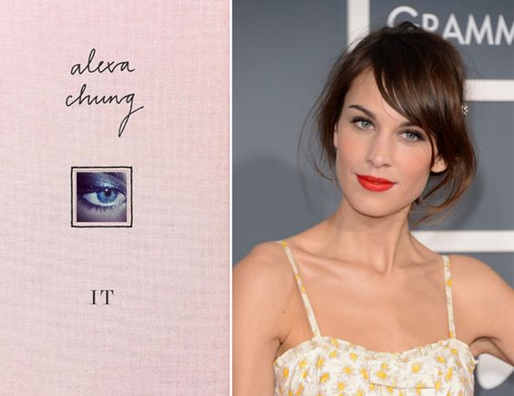 Alexa Chung lança livro de moda