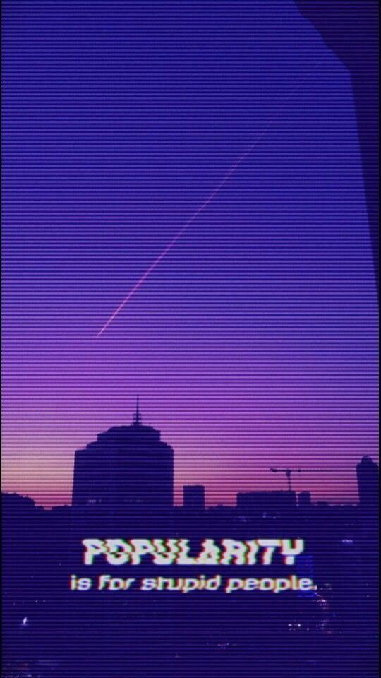 Random Phone Wallpaper Wallpaper Quotes Purple Aesthetic
