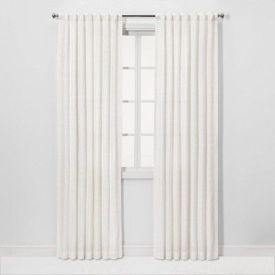 Honeycomb Light Filtering Curtain Panel White Threshold In 2020