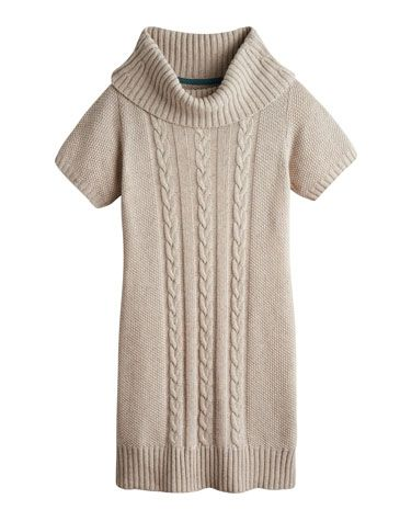 Joules null Womens Knitted Tunic, Oatmeal.                     Keep your fingers crossed for the temperature for the dip, because our new knitted tunic is about to make getting out and about during a cold snap a lot more stylish. With a cowl neck and cable knit detail that adds more than a touch of texture. Crafted w