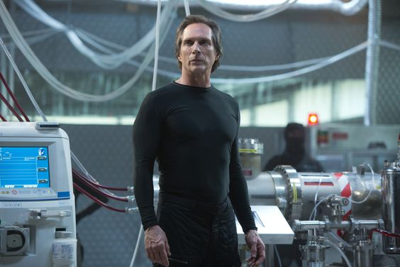 William Fichtner plays Eric Sacks in TEENAGE MUTANT NINJA TURTLES, from Paramount Pictures and Nickelodeon Movies.