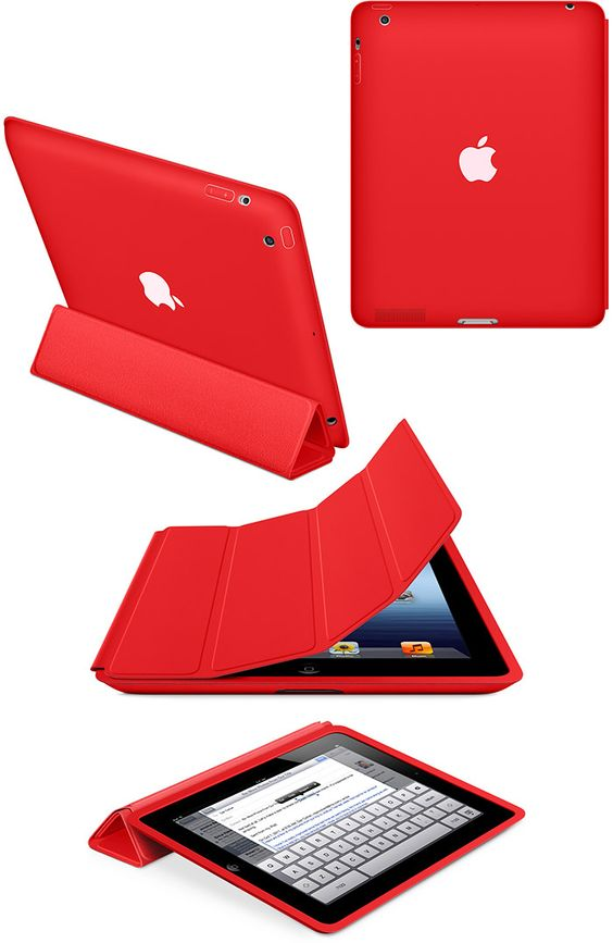 Red Ipad Case Apple