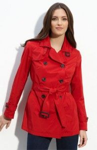 Short Red Trench Coat - All The Best Coat In 2017