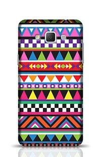 Tribal Colorful Geometric Pattern Samsung Galaxy A5 Phone Case