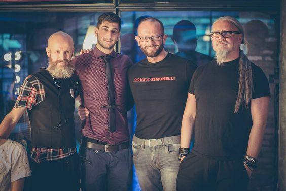 i 4 finalisti sul palco di #TopHairstylist