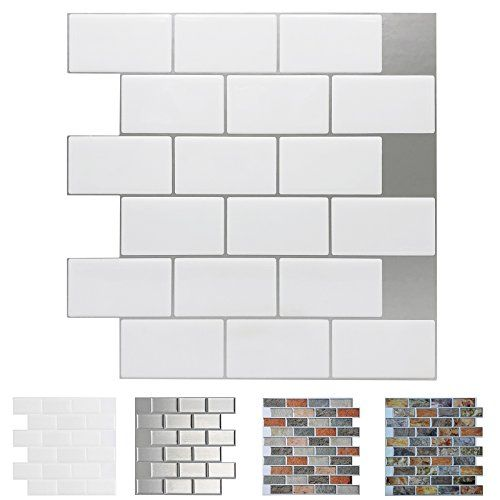 Art3d Peel And Stick Backsplash Tiles For Kitchen Stick On Wall