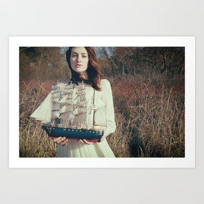 wanderlust Art Print by Elle Hanley Photography - $15.00