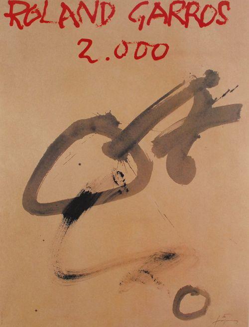 Antoni Tapies: Roland Garros 2000 - Galerie-F