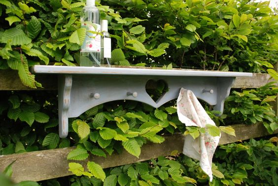 x Sold x - Shaker Style Shelf from BLEU CLAIR