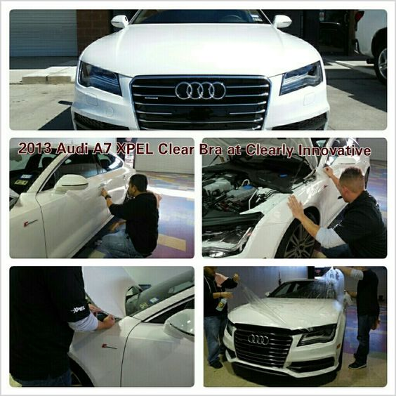 2013 Audi A7 XPEL Clear Bra / Paint Protection #XPEL #clearlyinnovative #clearly_innovative #clearbra #paintprotection #ppf