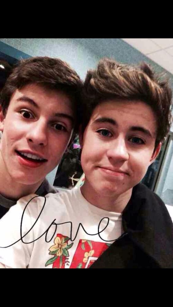 Nash grier and Shawn mendes on Pinterest