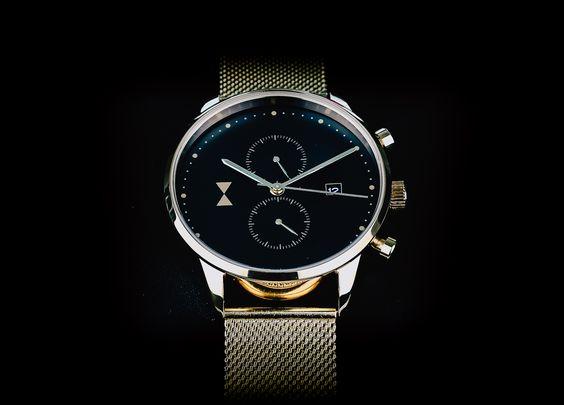 Mens Gold watch from www.fridaydapper.com
