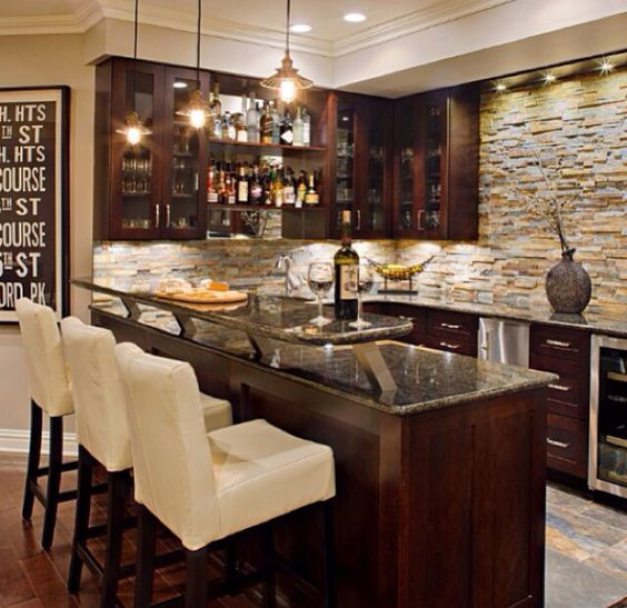 Wet Bars, Basements And Bar On Pinterest