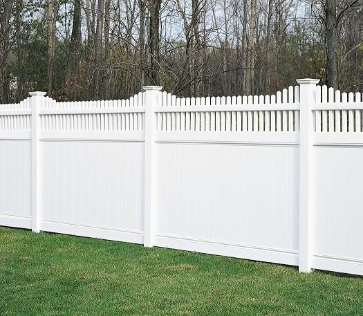 Fence Privacy Fences And Vinyls On Pinterest