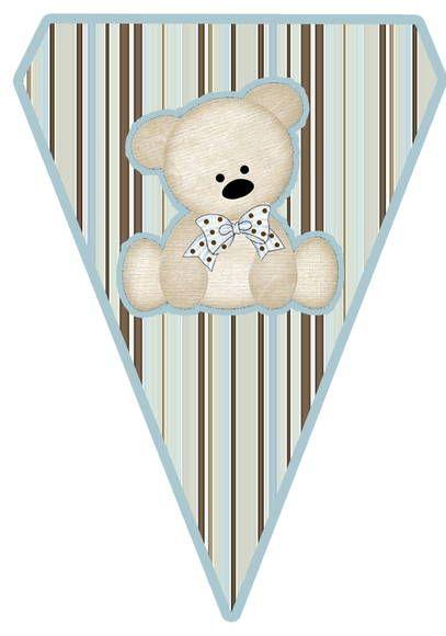 Bandeirolas tema chá de bebê , temos outras artes.  Medidas - 28,5altura largura proporcional.  Material - Papel Fotográfico  Produção em até 20 dias. R$ 1,50